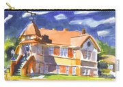 The Church On Shepherd Street II Carry-all Pouch