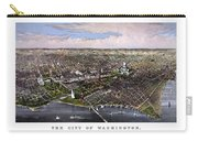 The City Of Washington Birds Eye View Carry-all Pouch