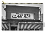 The Clam Box Carry-all Pouch by Joann Vitali