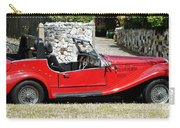 The Classic Red Convertible  Carry-all Pouch