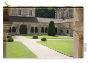 The Cloister Courtyard - Cloister Fontenay Carry-all Pouch
