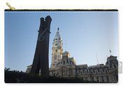 The Clothes Pin Statue And City Hall - Philadelphia Carry-all Pouch