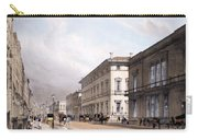 The Club Houses, Pall Mall, 1842 Carry-all Pouch by Thomas Shotter Boys
