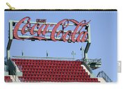 The Coca-cola Corner Carry-all Pouch by Susan Candelario