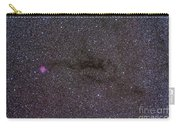 The Cocoon Nebula In The Constellation Carry-all Pouch by Alan Dyer