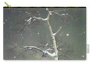 The Cold Bones Of Trees At Night Carry-all Pouch