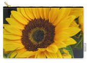 The Color Of Summer - Sunflower Carry-all Pouch