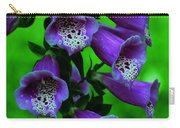 The Color Purple Carry-all Pouch by Kathleen Struckle