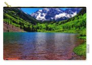 The Colors Of Maroon Bells In Summer Carry-all Pouch