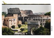 The Colosseum Through The Forum Carry-all Pouch