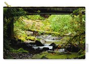 The Coming Of Autumn - Barnes Creek - Lake Crescent - Washington Carry-all Pouch