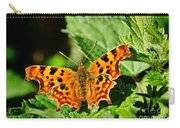 The Comma -- Polygonia C-album Carry-all Pouch