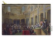 The Committee Of Lyon, 26th January 1802, 1808 Oil On Canvas Carry-all Pouch