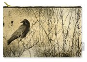 The Common Crow Carry-all Pouch