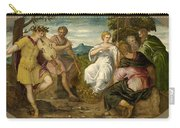 The Contest Between Apollo And Marsyas Carry-all Pouch