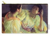 The Conversation Carry-all Pouch by Mary Stevenson Cassatt