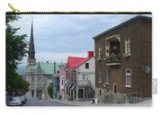 The Corner Of Rue Sainte Claire Overlooking Saint Jean Baptist Church Carry-all Pouch