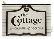 The Cottage In Lake Placid New York  Carry-all Pouch