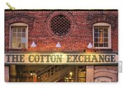 The Cotton Exchange Carry-all Pouch by Cynthia Guinn