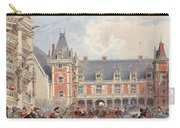 The Court In Chateaus Of The Loire Carry-all Pouch