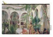 The Court Of The Harem Carry-all Pouch by Albert Girard