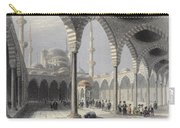 The Court Of The Mosque Of Sultan Carry-all Pouch