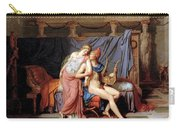 The Courtship Of Paris And Helen Carry-all Pouch