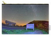 The Craggy Pinnacle Visitors Center At Night Carry-all Pouch