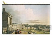 The Crescent, From Bath Illustrated Carry-all Pouch by John Claude Nattes
