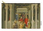 The Crippled And Sick Cured At The Tomb Of Saint Nicholas Carry-all Pouch by Gentile da Fabriano