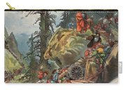 The Crossing Of The Alps, Illustration Carry-all Pouch