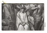 The Crown Of Thorns Carry-all Pouch by Gustave Dore