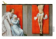 The Crucifixion With The Virgin And Saint John The Evangelist Mourning Carry-all Pouch