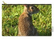 The Curious Rabbit Carry-all Pouch
