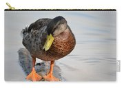 The Cute Brown Duck Carry-all Pouch