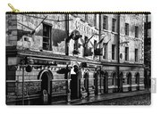 The Czech Inn - Dublin Ireland In Black And White Carry-all Pouch