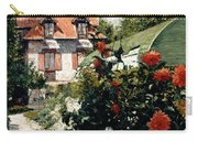 The Dahlias Garden At Petit Gennevilliers Carry-all Pouch