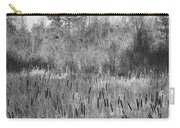 The Dance Of The Cattails Bw Carry-all Pouch