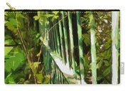 The Dappled Railings  Carry-all Pouch