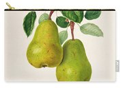 The D'auch Pear Carry-all Pouch by William Hooker