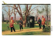 The Daughter Of The English Ambassador Riding In A Palanquin Carry-all Pouch