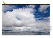 Cloudscape Over Lake Titicaca Peru Carry-all Pouch