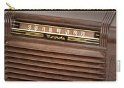 The Days Of Radio Carry-all Pouch