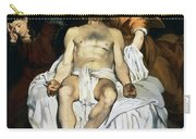 The Dead Christ And Angels Carry-all Pouch by Edouard Manet