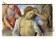 The Dead Christ Supported By Saints Carry-all Pouch