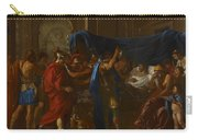 The Death Of Germanicus Carry-all Pouch by Nicolas Poussin