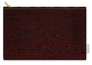 The Declaration Of Independence In Negative Red Carry-all Pouch