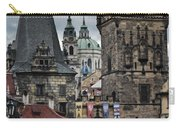 The Depths Of Prague Carry-all Pouch by Joan Carroll