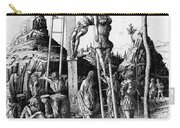 The Descent From The Cross Carry-all Pouch by Andrea Mantegna