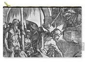 The Descent Of Christ Into Limbo Carry-all Pouch by Albrecht Duerer